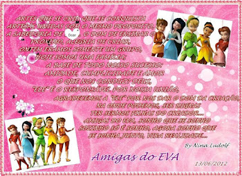Visite o blog das Amigas do Eva