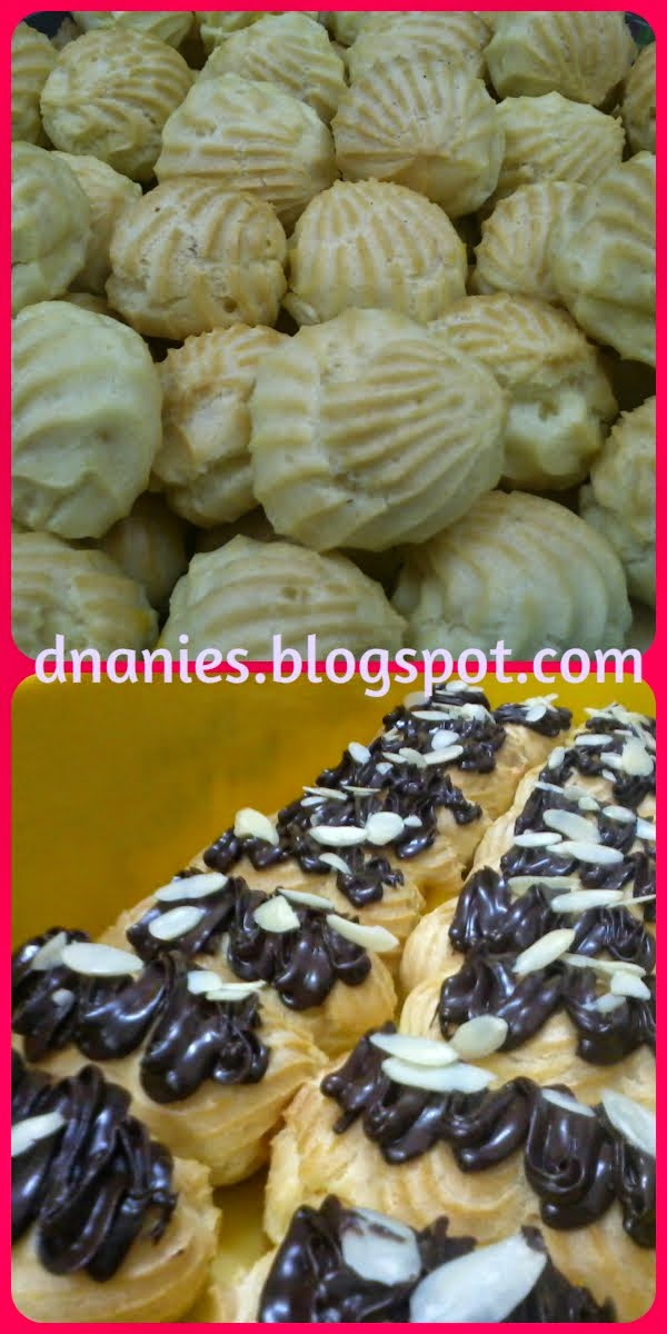 Kelas Krim Puff & Eclairs RM200
