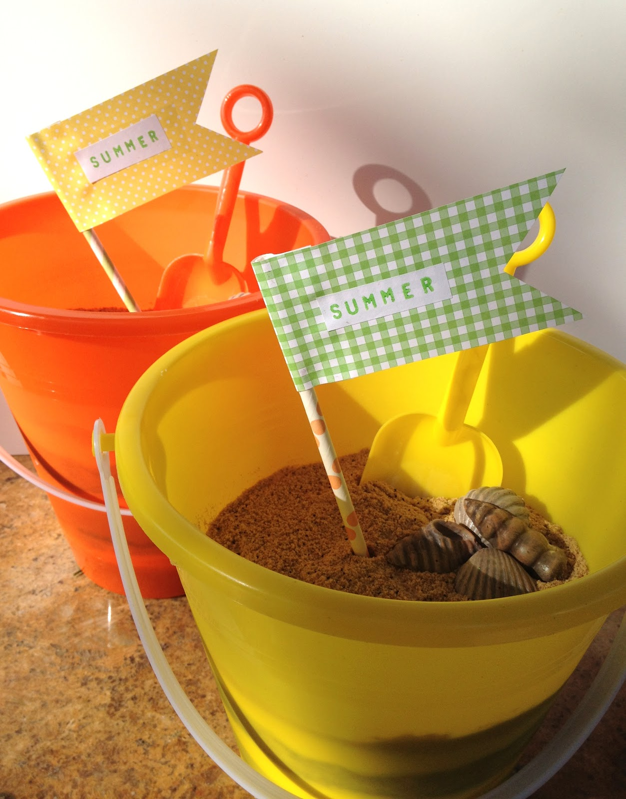 jennuine by rook no 17 the sweetest summer cake beach bucket