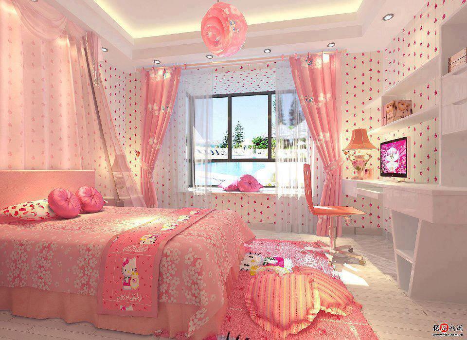 Construindo minha casa clean quarto dos sonhos de meninas for Home decorating company