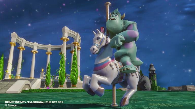 Fantasyland Carousel Horse