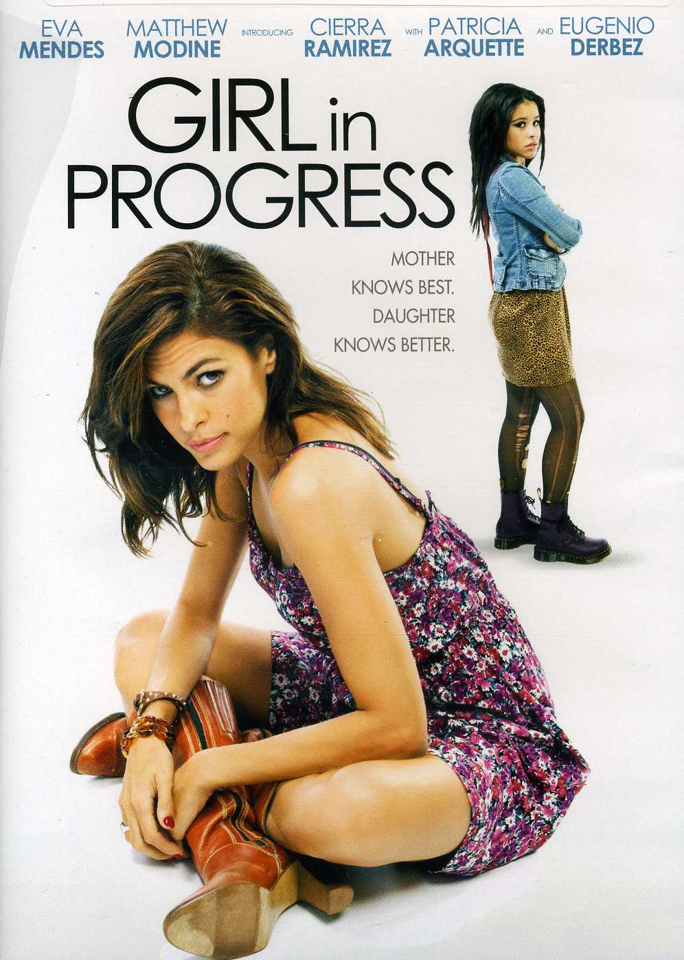 Movie progress girl in