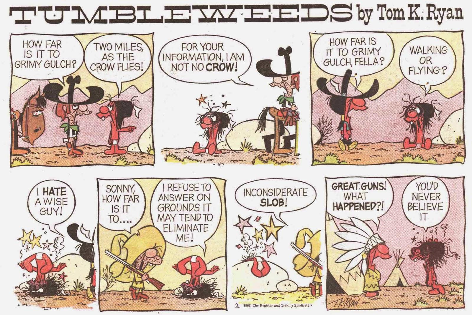 Tumbleweeds comic strip archives