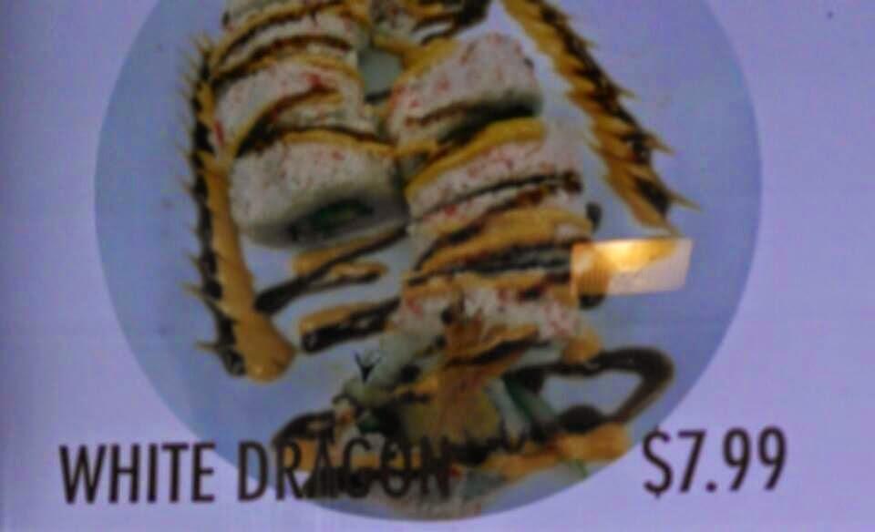 White Dragon Plate