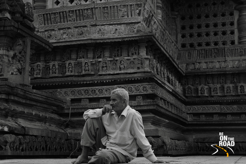 Candid Portrait at Chennakeshava Temple, Belur, Karnataka, India