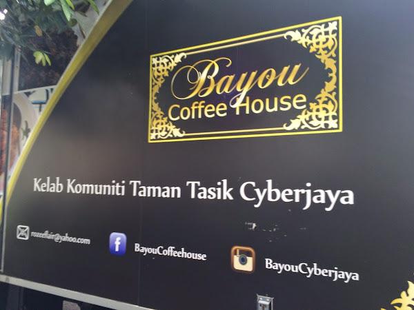 Menu Selera Kampung di Bayou Coffee House,Kelab Komuniti Taman Tasik Cyberjaya