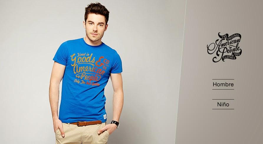 Oferta de ropa para hombres de American People