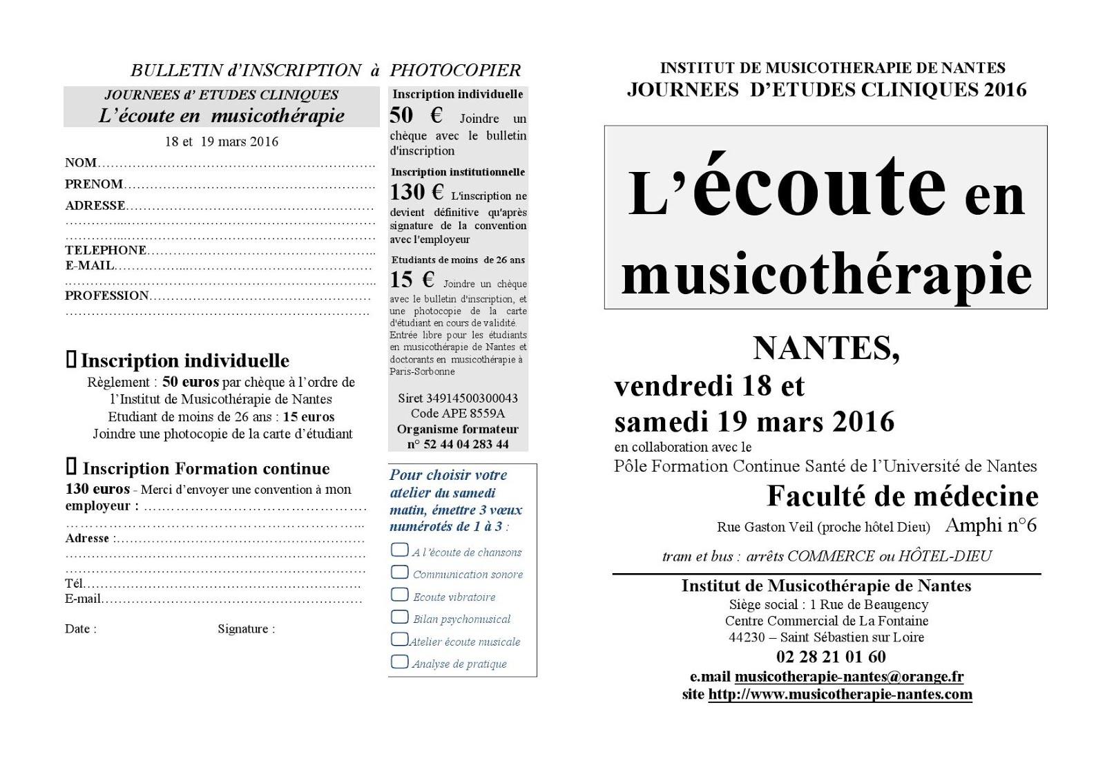 musicoth u00e9rapie ile de france  congr u00e8s  formations