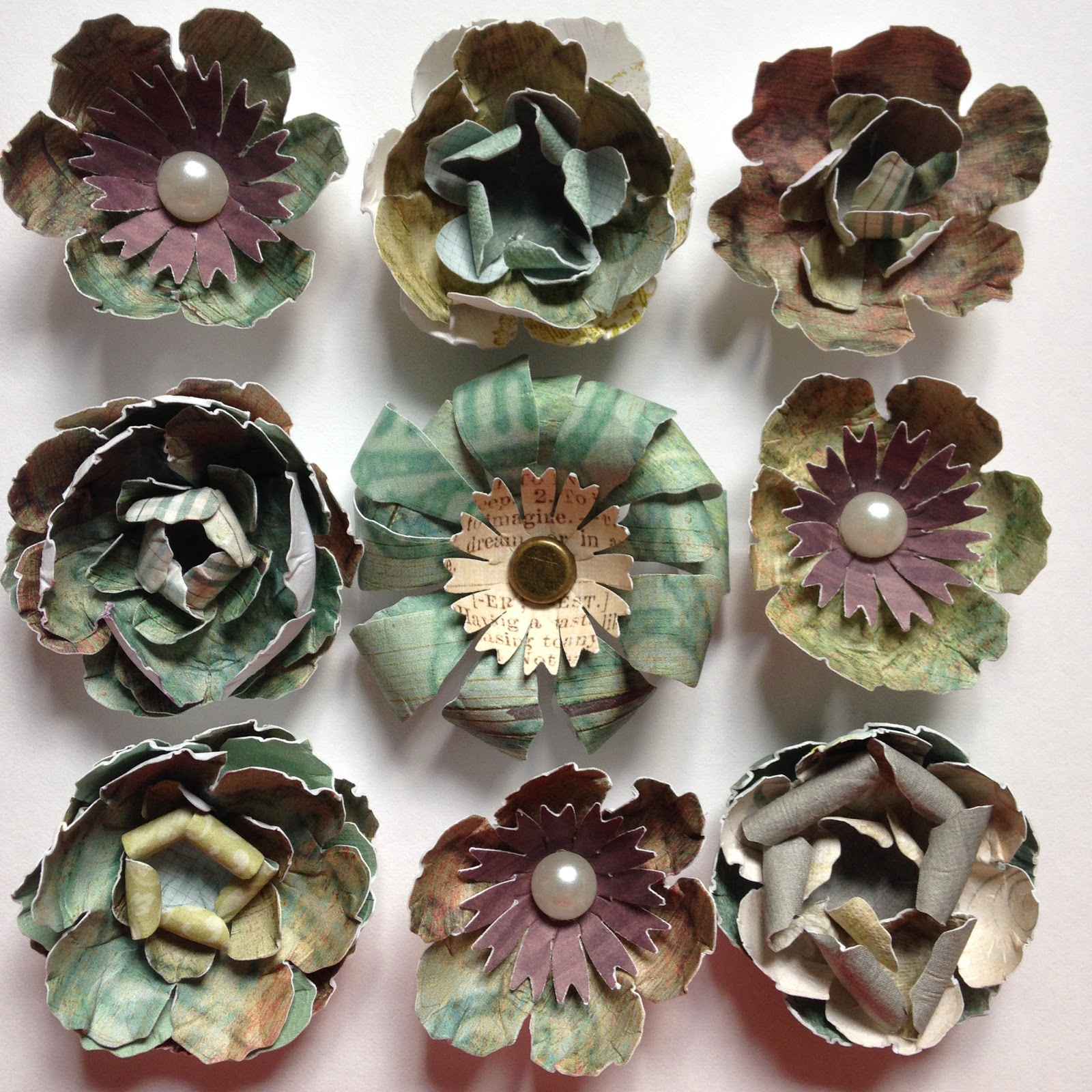 Sewpaperpaint tips and tricks for making diy paper flowers using flowers 1 mightylinksfo