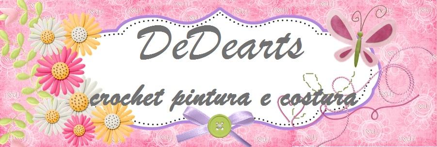 DeDearts crochet pintura e costura