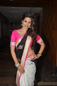Shaddha das glamorous photos in saree-thumbnail-6