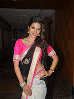 Shraddha Das latest glam pics in saree-cover-photo