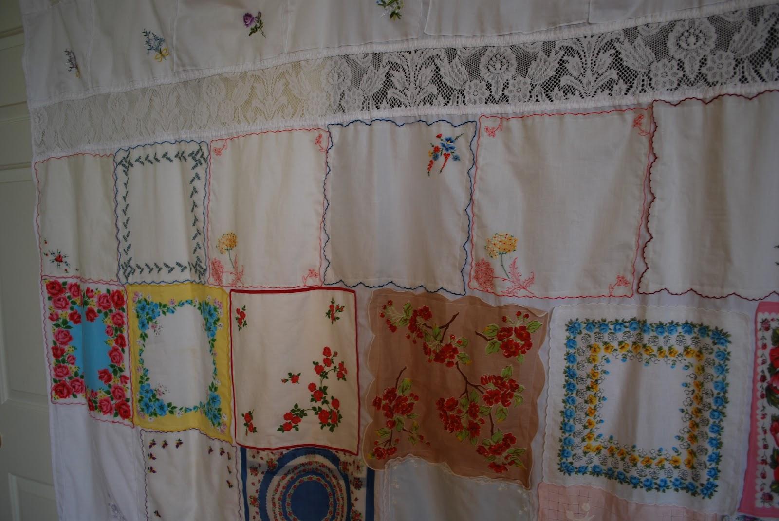 Vintage Shower Curtain Big Natural Porn Star