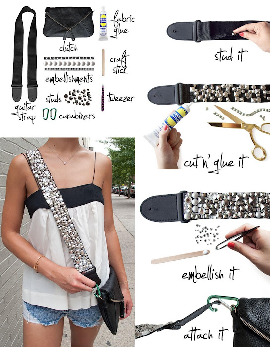 Embellished your bag strap