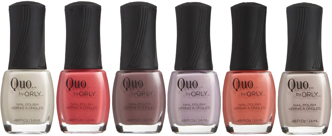 Quo by Orly Nail Polish - Spring 2014 Collection - with swatches ...