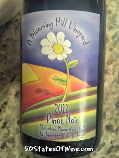 A Blooming Hill VIneyard Pinot Noir