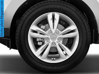 Hyundai tucson car 2013 tyres/wheel - صور اطارات سيارة هيونداى توسان 2013