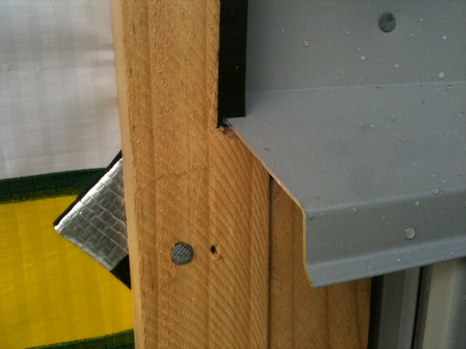 Kim Maea Nugent: Window & Door Frame Flashing & Meter Box Installation