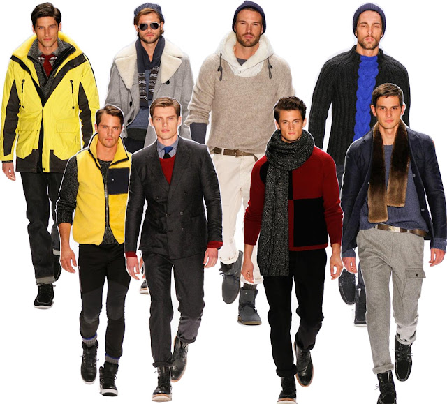 Nautica Men's Fall 2013 Collection: The Reinvented Parkas