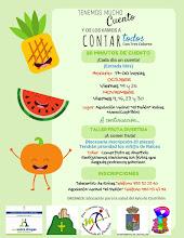 Cuentacuentos y taller de frutas en Raices