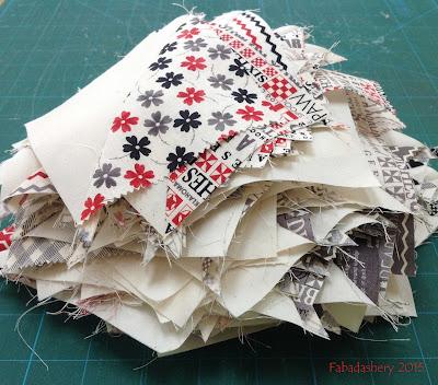 Bonus Half Square Triangles - 'Mama Said Sew' by Sweetwater