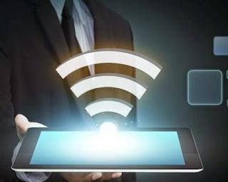 Os obstáculos interferem na qualidade do sinal da rede Wi-Fi