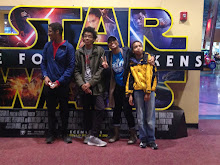 Family at Star Wars