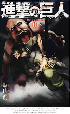 konsep awal Manga Attack On Titan
