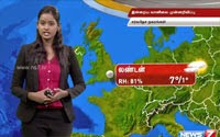 Weather forecast for Sep 25, 2016