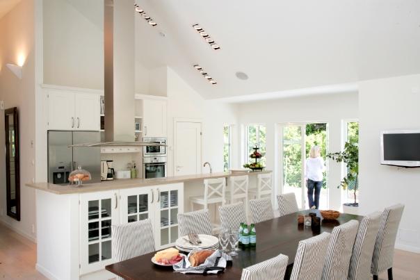 Kok Med Bursprak : Villa Nystuga  Vort logenergihus po landet Skiss po lantligt