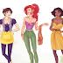 Tag Princesas da Disney