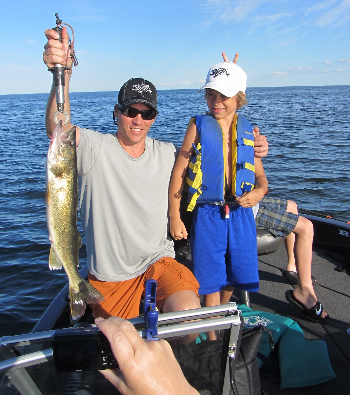 Leisure outdoor adventures mille lacs lake walleye guide for Mille lacs fishing