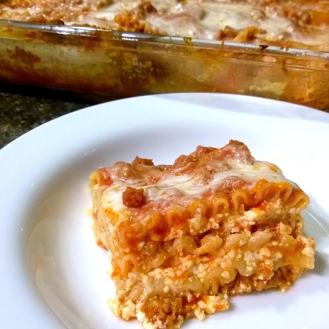 Oven ready lasagna noodles