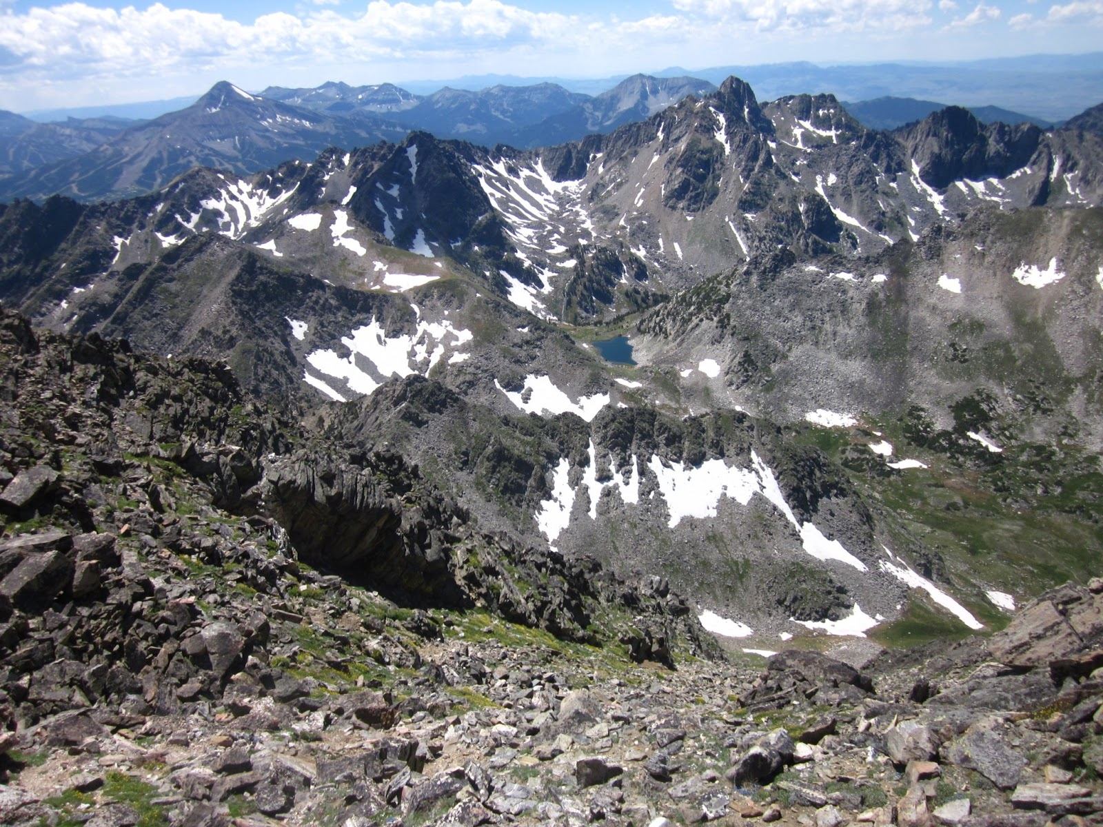 how tall is gallatin peak