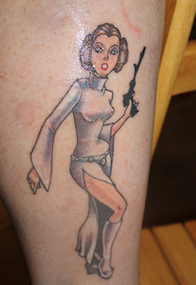 Princess Leia Tatttoo