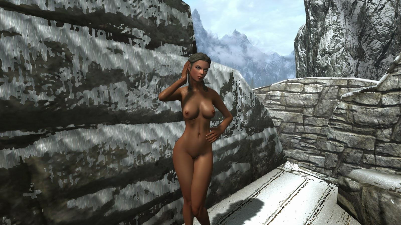 Skyrim nude mod nudemod net naked image