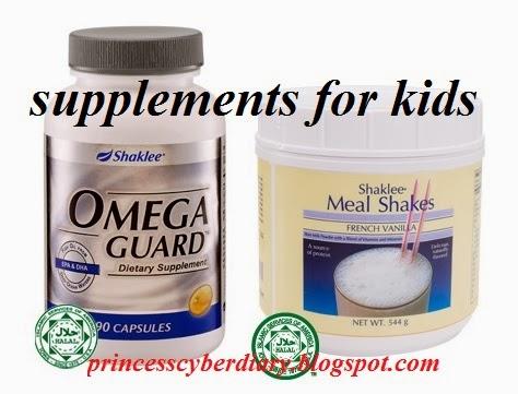 Supplement untuk kanak-kanak