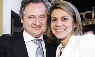 Dolores de Cospedal y su marido Ignacio López del Hierro