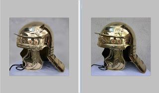Roman Helmet Photoshop Study
