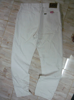 Lee white sz 34