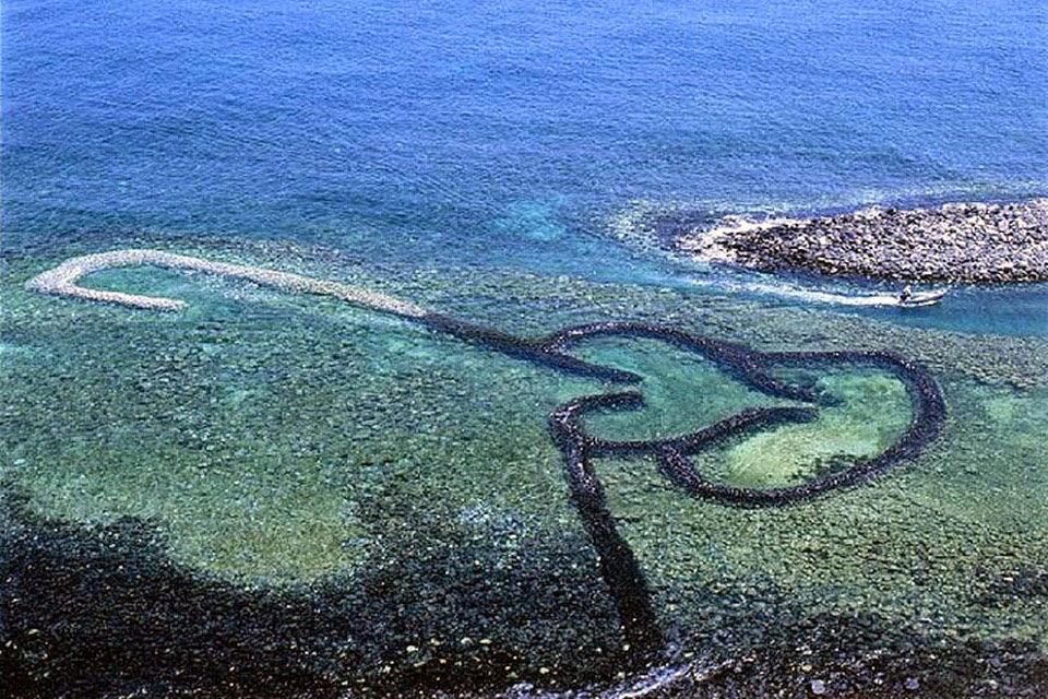 hình ảnh hòn đảo trái tim