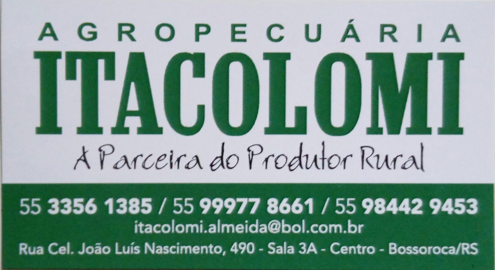 AGROPECUÁRIA ITACOLOMI