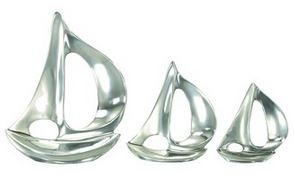aluminum sailboats set