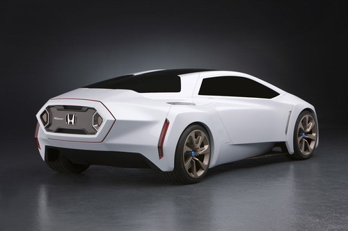 The FC Sport Emphasizes Design Flexibility And Potential Of Hondas V Flow Fuel Cell Technology