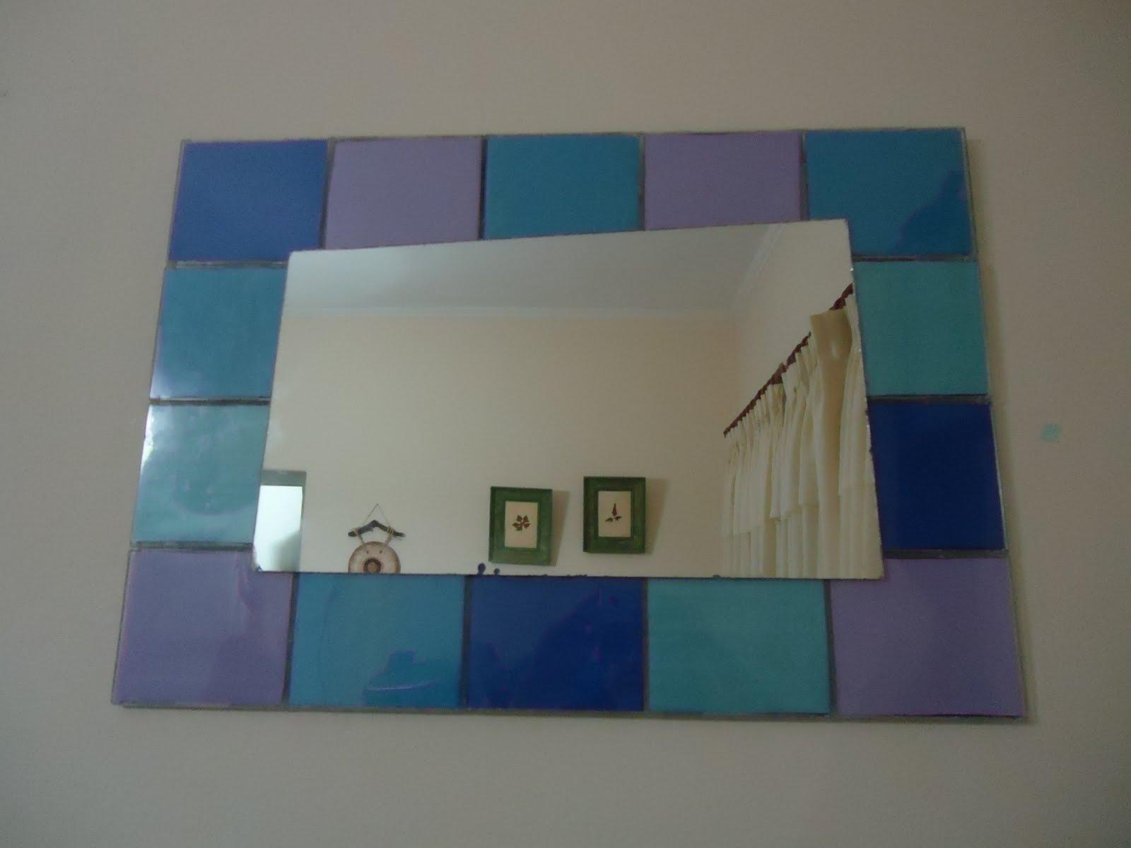 Reciclados rapiditos marco de espejo for Espejos pequenos para pegar