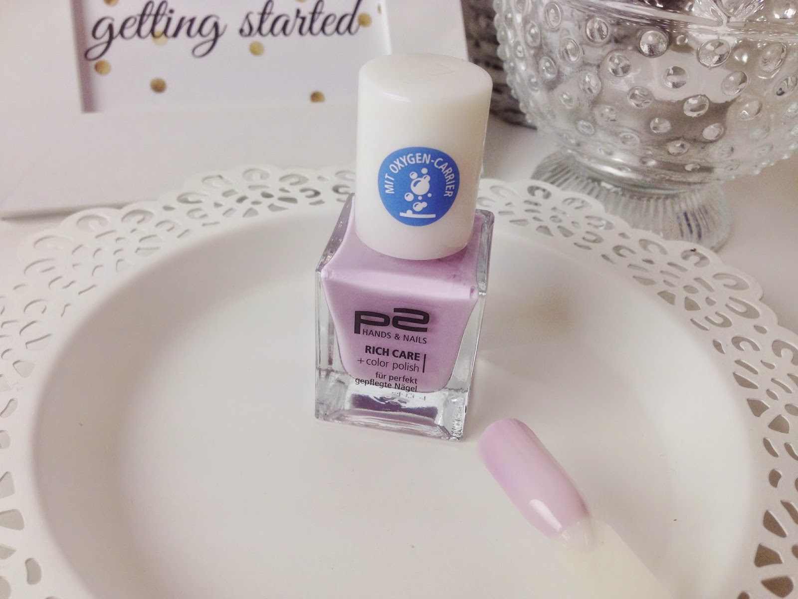 P2 Rich Care + Color Polish So Sweet  Review und Swatches