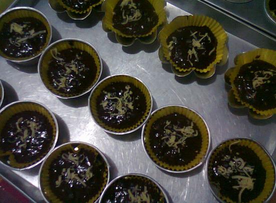 Kue Muffin Coklat Keju