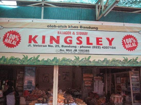 Batagor Kingsley Wisata Kuliner Bandung