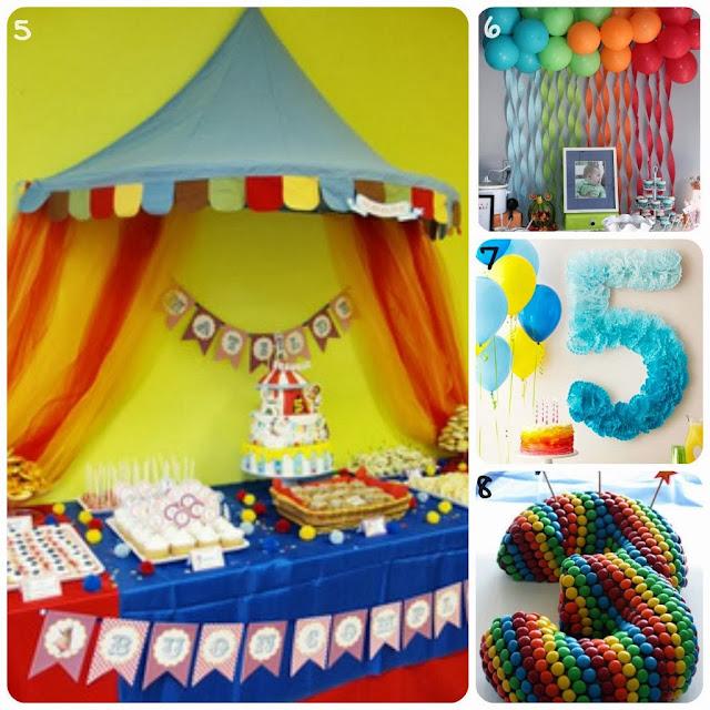 Idee per la feste di compleanno dei bambini le creazioni for Decorazioni festa compleanno