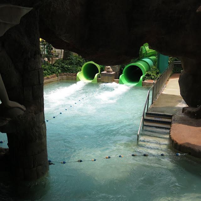 Adventure Cove Waterpark Singapore slide